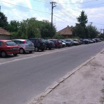 Albertirsa, Határ úti parkoló