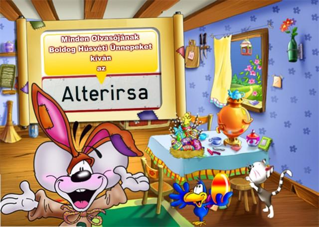 Bolsodg Húsvétot kíván az Alterirsa!
