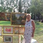 Tímár Ibolya festőművész