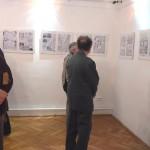 Miklosovits László és Koska Zoltán grafikus művészek kiállítása.