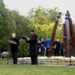 A Gerje-parti Fúvósegylet zenei aláfestést adott a műsor egyes elemeihez